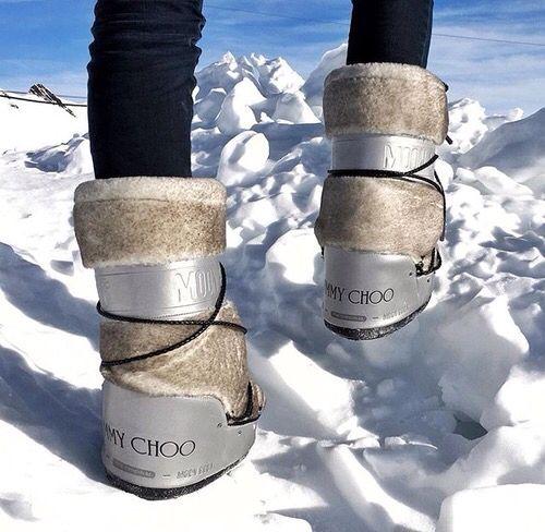 Jimmy Choo x Moon Boots